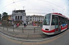 火车站布尔诺 库存照片