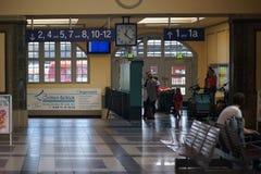 火车站弗里德贝格黑森 库存照片