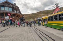 火车站烟特勒根 库存图片