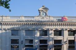火车站阿维尼翁普罗旺斯法国 图库摄影