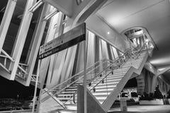 火车站雷焦艾米利亚 库存照片