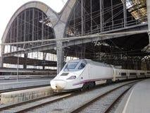 火车站,巴塞罗那。 免版税库存照片