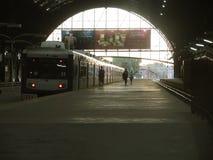 火车站,布宜诺斯艾利斯 免版税库存图片