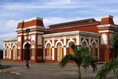 火车站,格拉纳达,尼加拉瓜 免版税库存照片