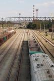 火车站 老培训 库存图片