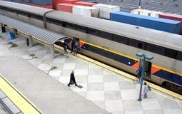 火车站#3 免版税库存图片
