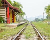 火车站 免版税图库摄影
