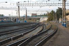 火车站 免版税库存照片