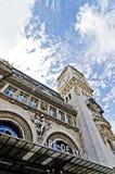 火车站gare de利昂 库存图片