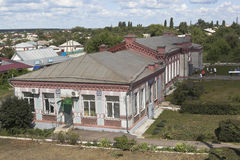 火车站Kolodeznaya在沃罗涅日地区,俄罗斯 图库摄影