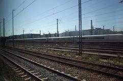 火车路轨 免版税库存图片