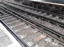火车轨道 库存图片