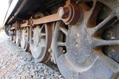 火车轮子 库存照片