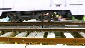 火车运输铁路旅行 影视素材