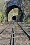 火车隧道 库存照片
