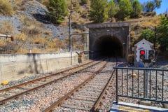 火车隧道 库存图片
