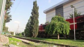 火车,土耳其6月2016年, 股票录像