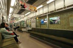 火车,日本 免版税库存图片