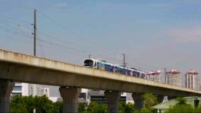 火车,机场链接(城市分界线) 图库摄影