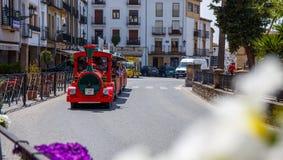 火车巴伊扎,西班牙 免版税库存照片