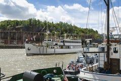 火轮SS Ukkopekka芬兰 免版税库存照片