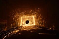 火隧道 库存照片