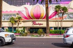 火鸟旅馆和赌博娱乐场入口 免版税库存图片