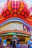 火鸟旅馆和赌博的地方 免版税库存照片