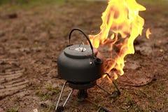 火水壶 免版税图库摄影