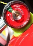 灭火器火测量仪 免版税图库摄影