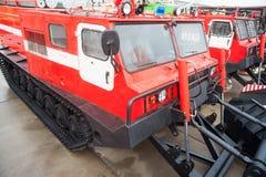 灭火消防车MPT-521 免版税库存照片
