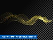 灯光管制线金子漩涡作用 传染媒介闪烁光火火光踪影 皇族释放例证