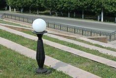 灯在公园 免版税图库摄影
