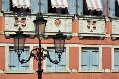 灯在威尼托街道 免版税库存图片