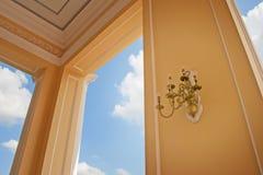 灯在宫殿在阿尤特拉利夫雷斯 免版税库存照片