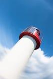 灯塔光致电压的天空 库存照片