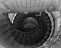 灯塔台阶的漂亮的上面 库存照片
