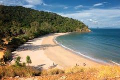 灯塔和酸值朗塔, Krabi,泰国国家公园  免版税库存图片