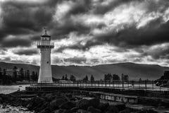 灯塔在伍伦贡澳大利亚 免版税库存图片