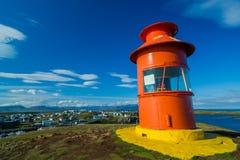灯塔在冰岛 免版税图库摄影