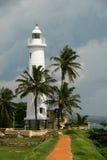 灯塔在加勒-斯里兰卡 免版税图库摄影