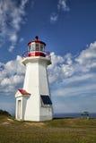 灯塔在加拿大 免版税库存照片