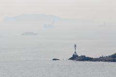 灯塔在厦门市,中国 免版税库存图片