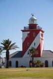 灯塔在开普敦,南非 库存图片