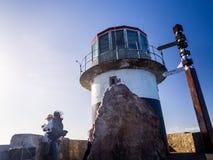 灯塔在开普角顶部 免版税库存照片
