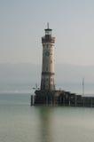 灯塔在林道,博登湖 免版税库存照片