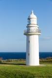 灯塔在海边 免版税库存图片
