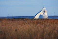 灯塔在海运 免版税图库摄影