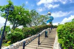 灯塔在瓜亚基尔 免版税库存照片
