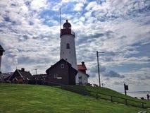 灯塔在荷兰 库存图片